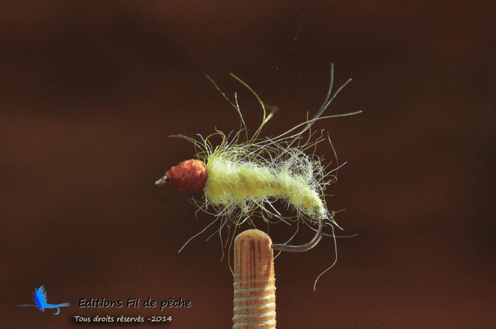 Nymphe légère pour la pêche des radiers ou des courants