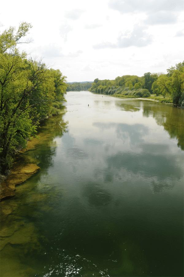 Basse rivière d'Ain