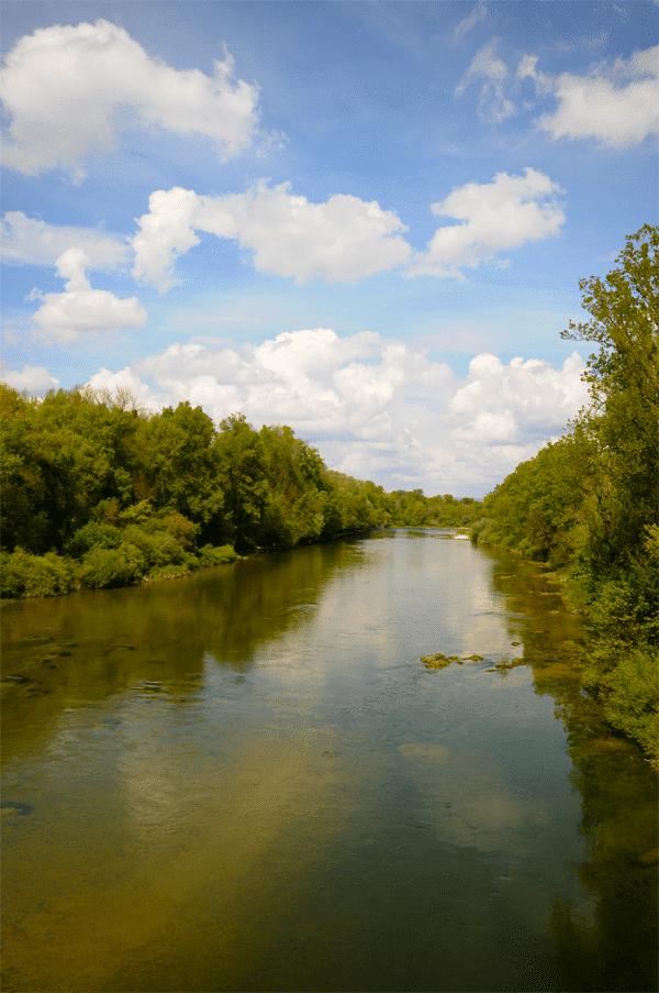 Basse rivière d'Ain - amont pont de Priay