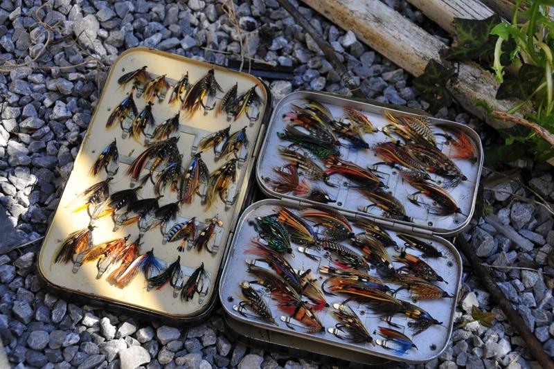 Mouches à saumons de Guy Debédat