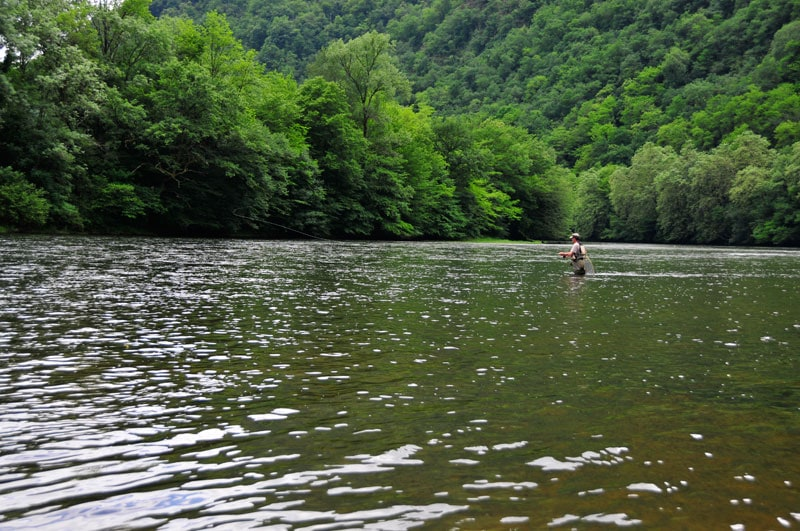 pêche à longue distance