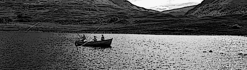 Sur les lougs écossais, le dapping était la première forme de pêche en dérive. On utilisait alors des appâts vivants comme les mouches de mai par exemple.