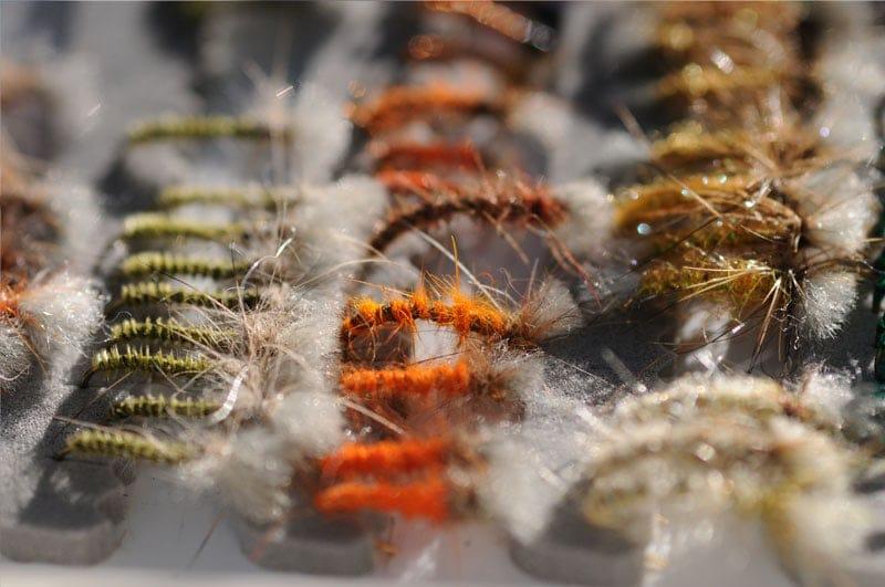 Ensemble de 3 Léger olive Buzzers Taille 12 Pêche à La Mouche Mouches