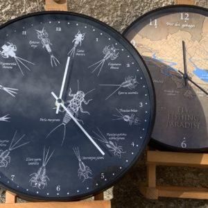 Horloges pêche