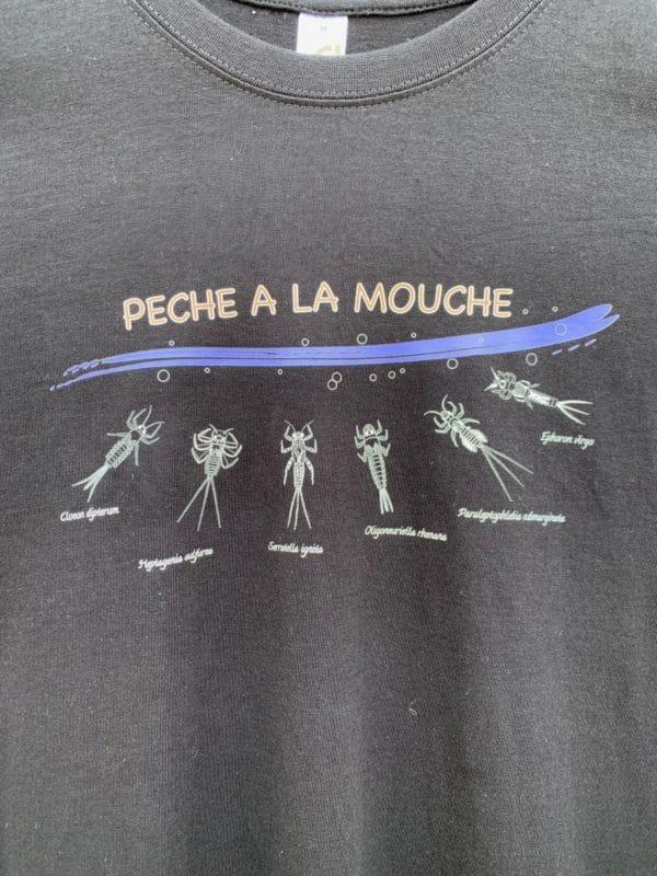 Peche Ala Mouche Nymphe Drole Cadeau T-Shirt